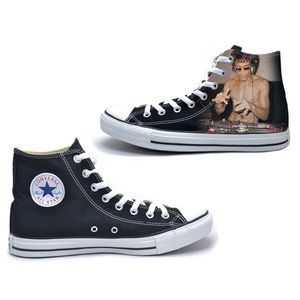 DJ Dragon - Bruce Lee Converse All Star High Tops